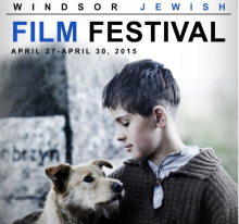 The 13th Annual Windsor Jewish Film Festival kicks off during the last week of April.