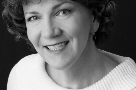 Black and White headshot of Catherine Mckeever