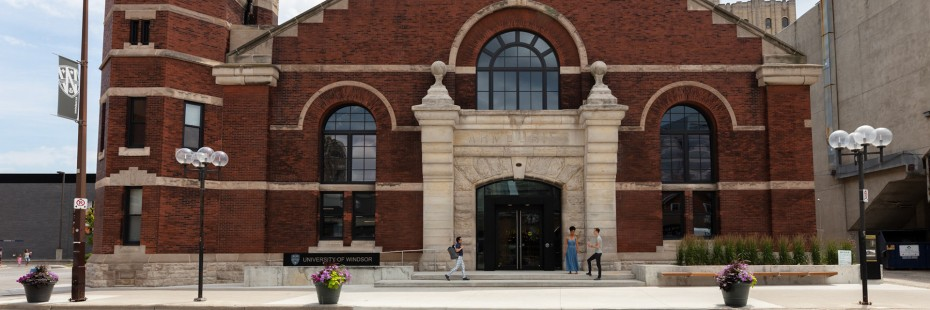 Main entrance, the Armouries, home of SoCA