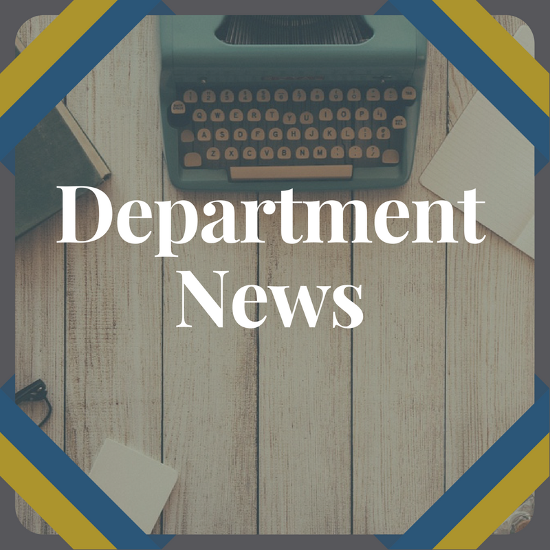 Department News