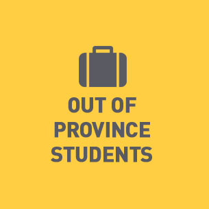 Out of Province Students