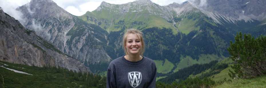 Exchange student in the mountains