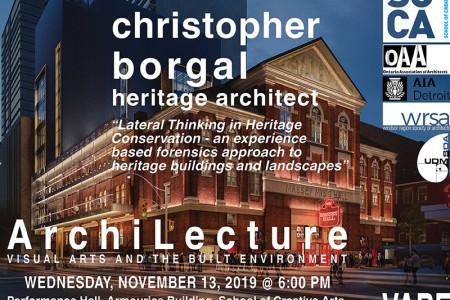 ArchiLecture: Christopher Borgal, Heritage Architect