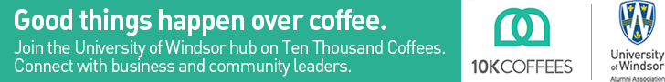 Join the University of Windsor hub on Ten Thousand Coffees