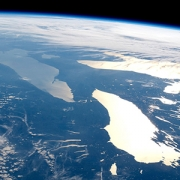NASA photo of Great Lakes