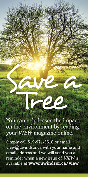 Save a tree, read VIEW online