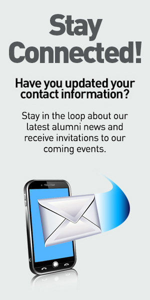 Stay Connected! Have you updated your contact information?