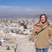 Windsor law grad Ele Pawelskiis shown in Afghanistan.