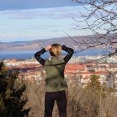 University of Windsor alumna Lauren Oakley is shown while she was on exchange in Sweden.