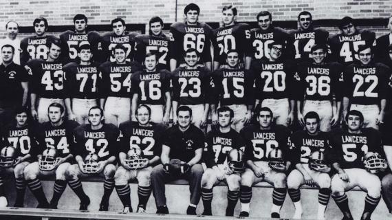 1968 Lancer Football Team