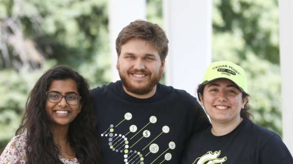 Kiruthika Baskaran, Jake Frank and Layale Bazzi