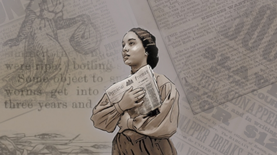 Rendering of a sculpture to honour Mary Ann Shadd, an African-Canadian/American, anti-slavery activist, journalist, publisher, teacher, and lawyer, for the newly named Windsor Hall – previously known as the Pitt-Ferry Building.