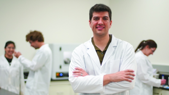 Nicholas Vukotic is UWindsor's new Industrial Research Chair in X-ray Diffraction and Crystalline Materials.