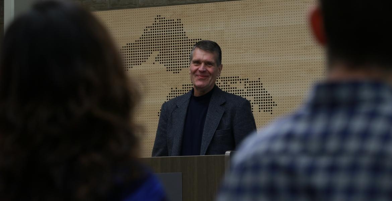 John Hartig, an internationally-renowned conservation scientist, has returned to GLIER as a visiting scholar.