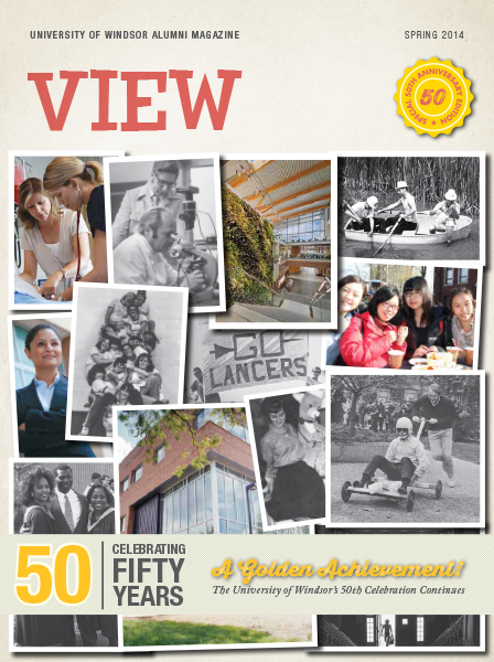 VIEW Spring 2014 cover