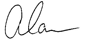 Alan Wildeman signature