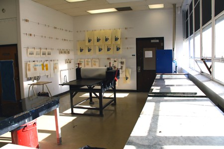 View of the Print Studio