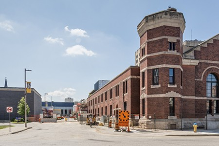 Photo of Armouries taken July 21, 2017 by Curt Clayton for UWindsor