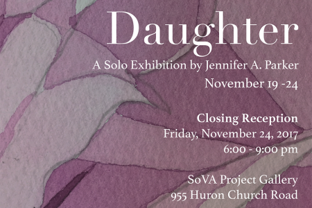 Daughter by Jennifer A. Parker, a solo exhibition
