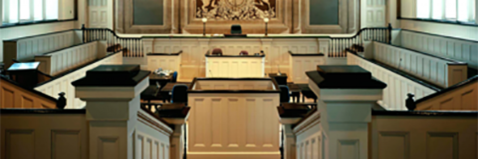 Cobourg Court Room, 2007. Photograph by Professor Pelkey