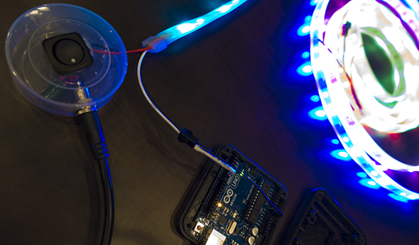 arduino and LED lights