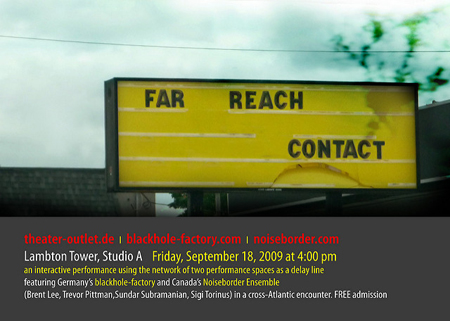poster for far reach contact by sigi torinus