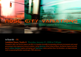 poster for rose city variations