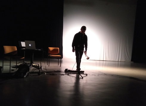 photo from open session 10 - generative music project