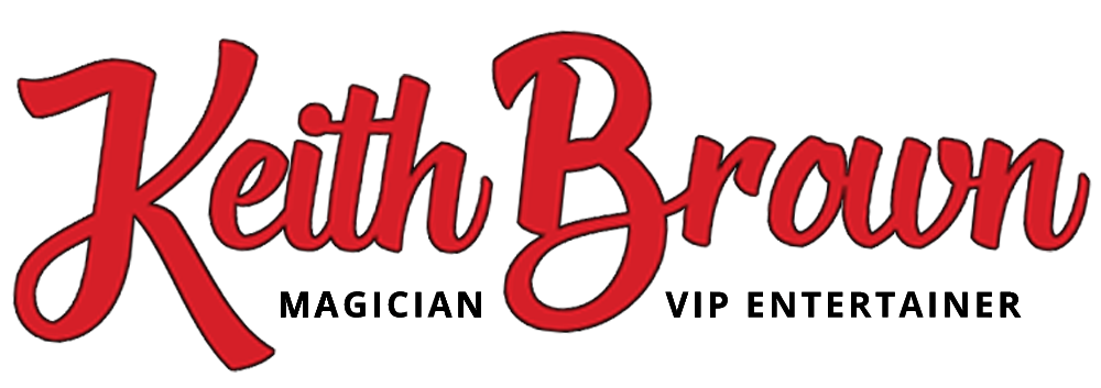 Keith Brown Magic and VIP Entertainer logo